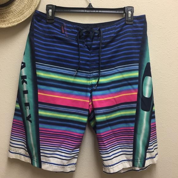 Oakley Other - OAKLEY Men's Board Shorts Swim Beach Wear Size 32